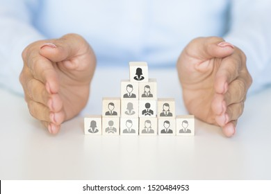 Protect your team leadership skill as a manager concept