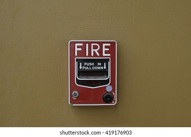 Protect yourself whit fire alarm when on fire
