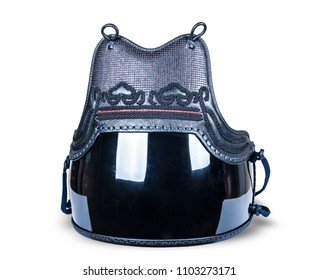 protection armor for the torso, chest and abdomen 'do' for Japanese fencing Kendo close-up
