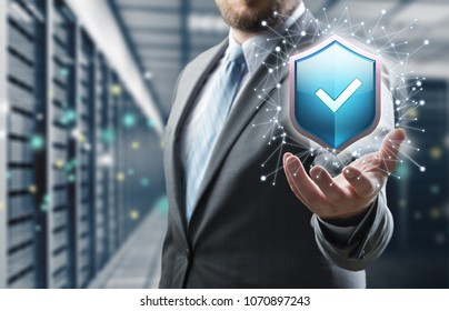 Protection network security concept