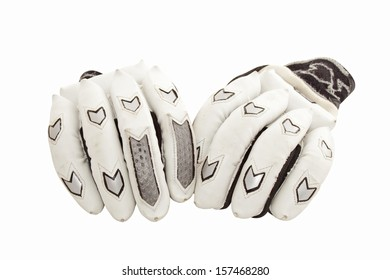 Protective cricket gloves for batsman's hands