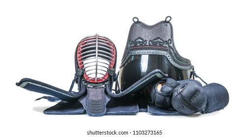 protective equipment 'bogu' for Japanese fencing Kendo training