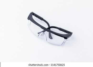 Protective goggles isolated on a white background