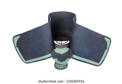 protective helmet 'men' for Japanese fencing Kendo training