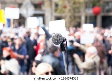 Protest or political demonstration