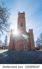 Protestant Trinity church in Vaasa. Finland