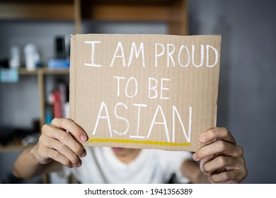 I am proud to be Asian.