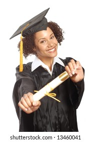 Proud young grad