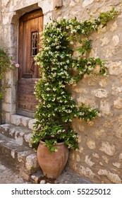 Provencal door way on the Cote d'Azur