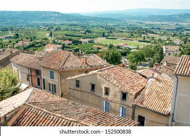 Provence village roof