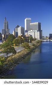 Providence on the bank of Seekonk River, RI