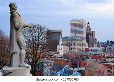 Downtown Providence Images, Stock Photos & Vectors