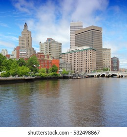 Providence, Rhode Island. City skyline in New England region of the United States.