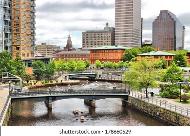 Providence, Rhode Island. City view in New England region of the United States.