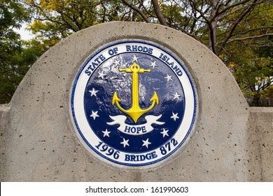 Providence State Seal on Bridge 872