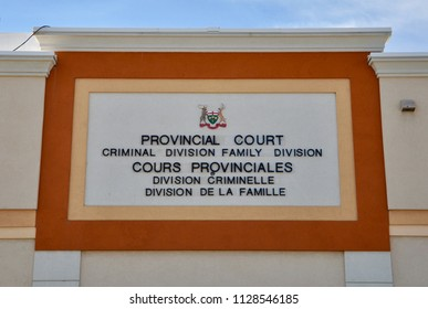 Provincial court criminal division family division sign