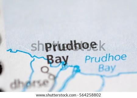 Prudhoe Bay Alaska Map.Prudhoe Bay Alaska Usa Stock Photo Edit Now 564258802 Shutterstock