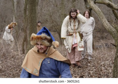 Prussian in the forest (reconstruction)