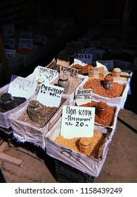 Pryvoz market in Odessa, Ukraine
