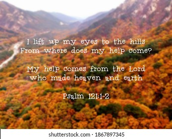 Psalm 121, Bible Verse, Daily Bible Scripture
