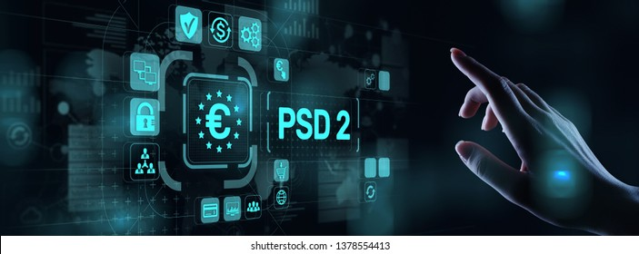 PSD2 Payment Services Directive Open Banking Payment service provider security protocol.