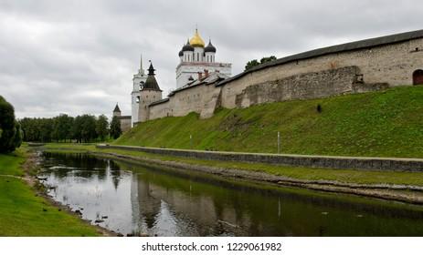 Pskov, Russia - September 4, 2015: Pskov Kremlin