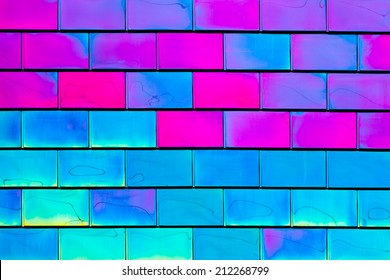 Psychedelic Tiles Background