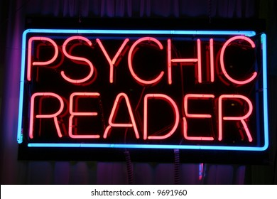 """psychic reader"" ""neon sign"""