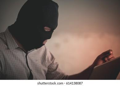 Psycho bandit hack internet by notebook for terrorist