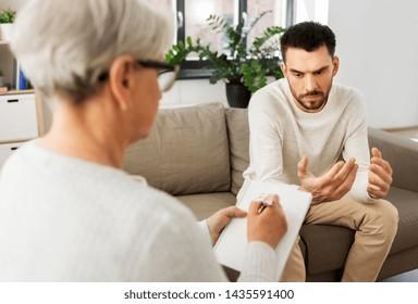 Imágenes, fotos de stock y vectores sobre Psicologo Terapia