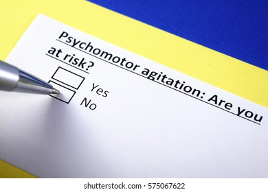 Psychomotor agitation: are you at risk?