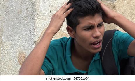 Psychotic Or Neurotic Teen Boy