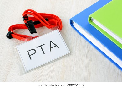PTA member tag and files