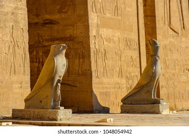 Ptolemaic Temple of Horus, Edfu, Egypt.