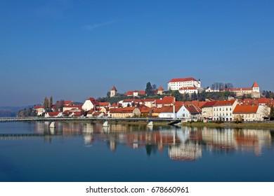 Ptuj on Drava, castle, Slovenia, Europe.