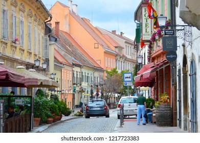 Ptuj,Slovenia/ Slovenia-06.25.2018:Ptuj in Slovenia