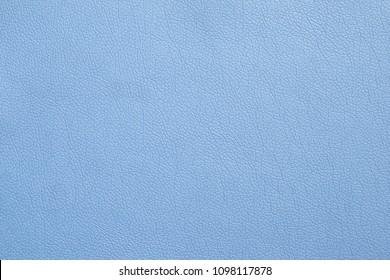 PU leather light blue color texture