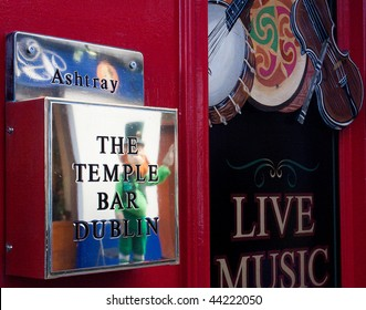 Pub in The Temple Bar Area of Ireland