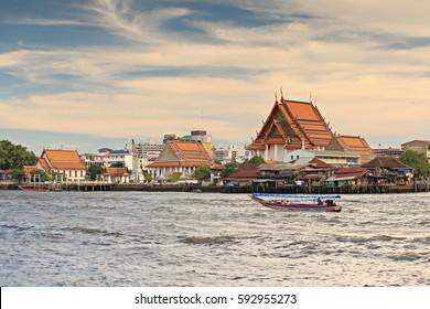 Public attractions Chao Phraya River Bangkok, Thailand