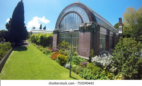 Public Auckland Domain Wintergardens Historic Victorian-style glasshouses.