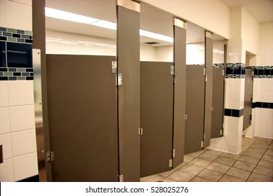 photo all occupied stalls public alamy photos stock images ayncjd image bathroom