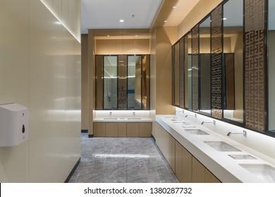 Public bathroom washroom