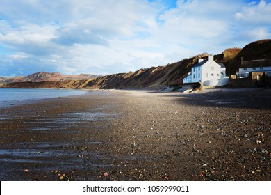 The public beach in the north of Wales.