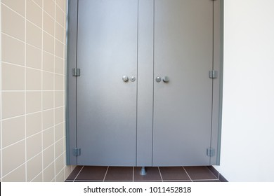 In an public building are womans toilets whit black doors & Washroom Door Images Stock Photos u0026 Vectors | Shutterstock