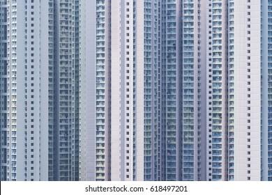 Public Estate in Hong Kong city