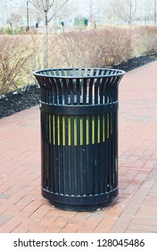 Public Garbage Can