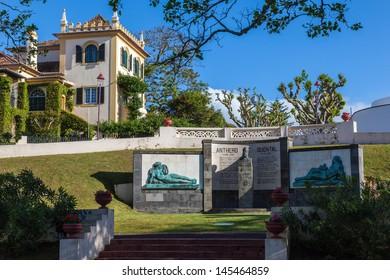 Public garden in Ponta Delgada on the azores
