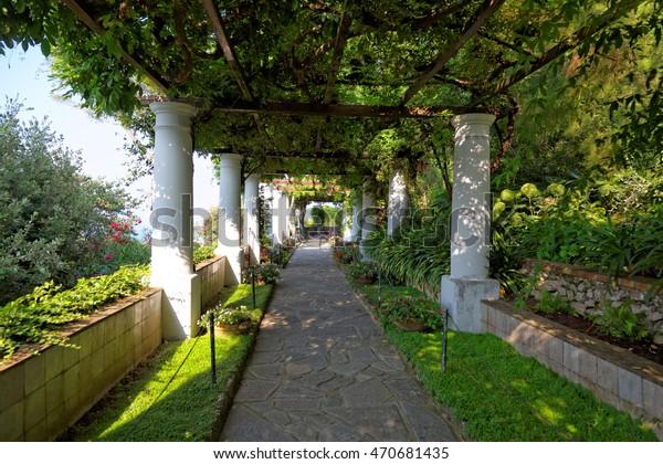Public Gardens Villa San Michele Capri Stock Photo Edit Now