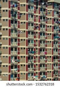 Public housing HDB resident building in Singapore