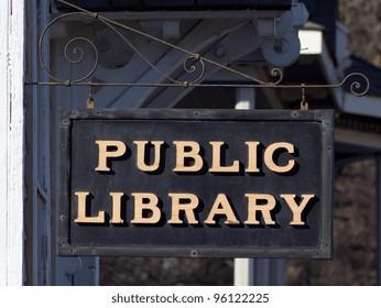 Public Library in Taylors Falls, Minnesota